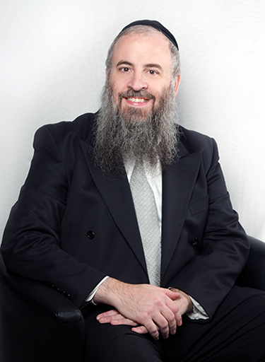 Rabbi Zalman Goldstein, <em>President and Director</em>