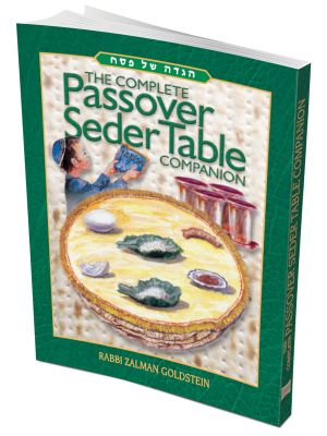 The Passover Seder Table Companions