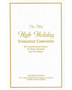 The High-Holiday Synagogue Companion (Excerpt Edition)