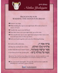 Laminated Guide: Washing the Hands for Bread
