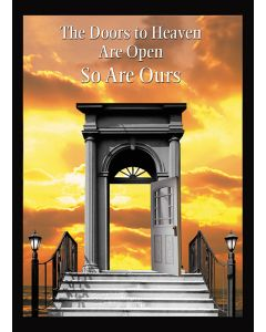 Wall Poster 04 - Our Doors Are Open