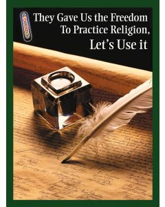 Wall Poster: Using Freedom of Religion