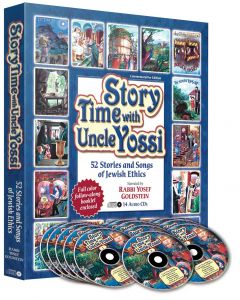 Uncle Yossi Story Time - Ultimate CD Set