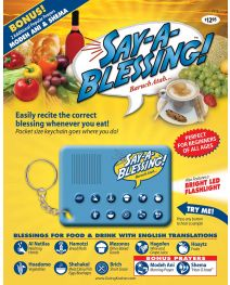 Say-a-Blessing Electronic Keychain
